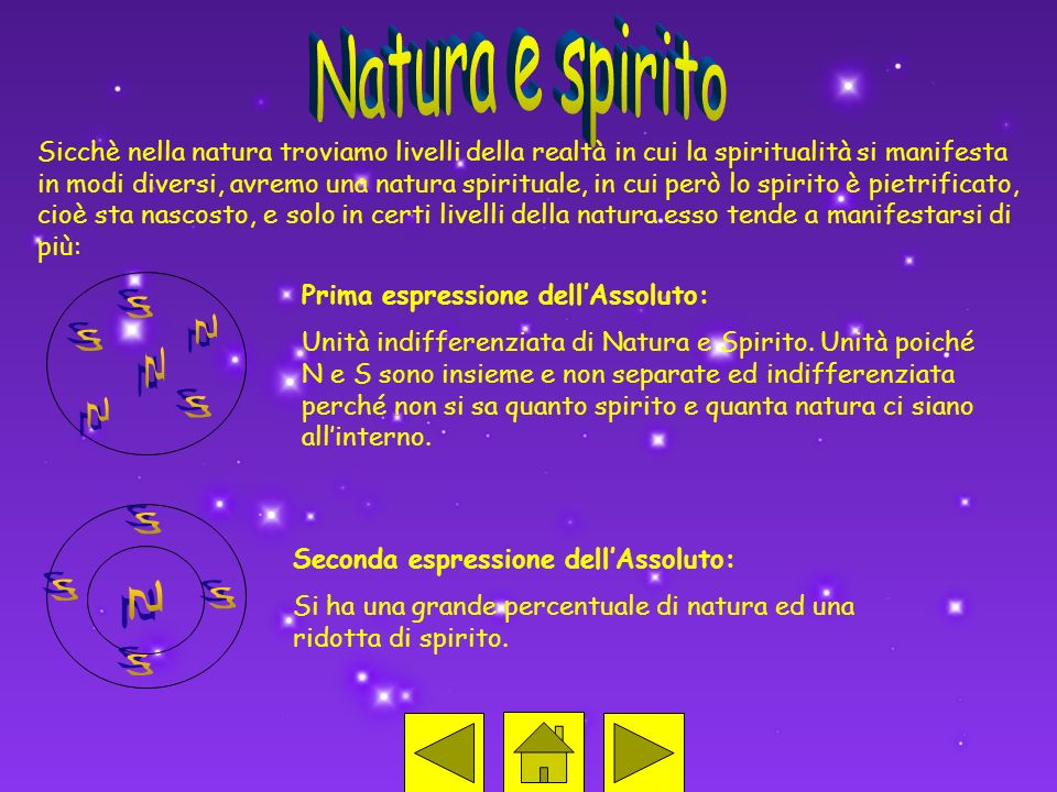 Natura e spirito