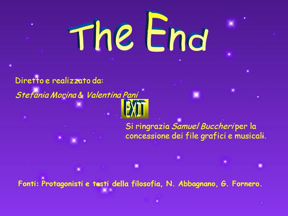 Fonti: Protagonisti e testi della filosofia, N. Abbagnano, G. Fornero.
