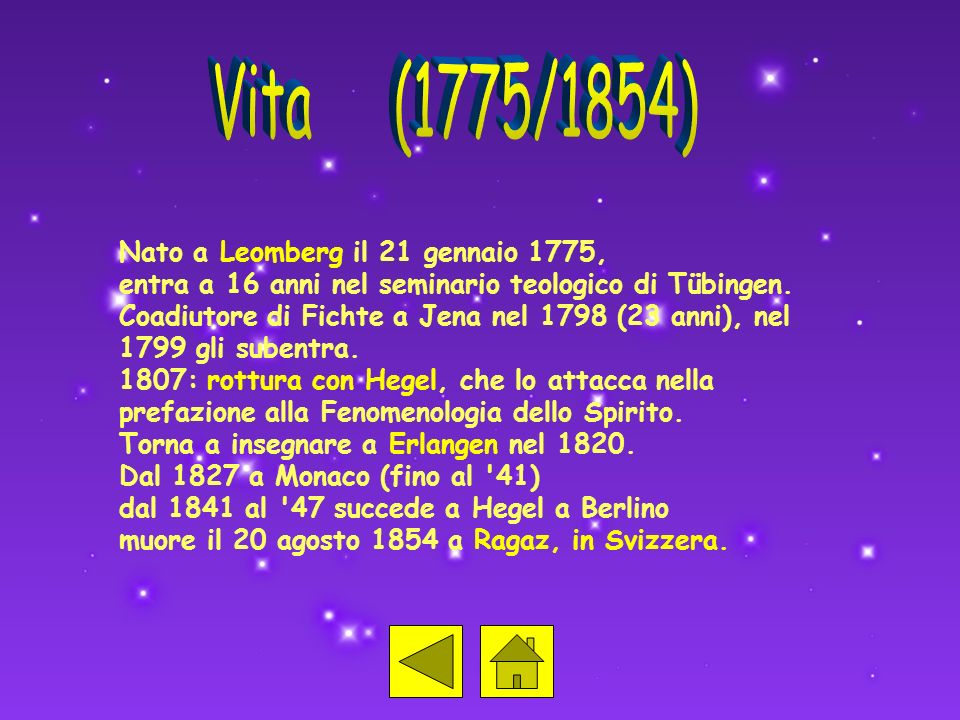 Vita (1775/1854) Nato a Leomberg il 21 gennaio 1775,