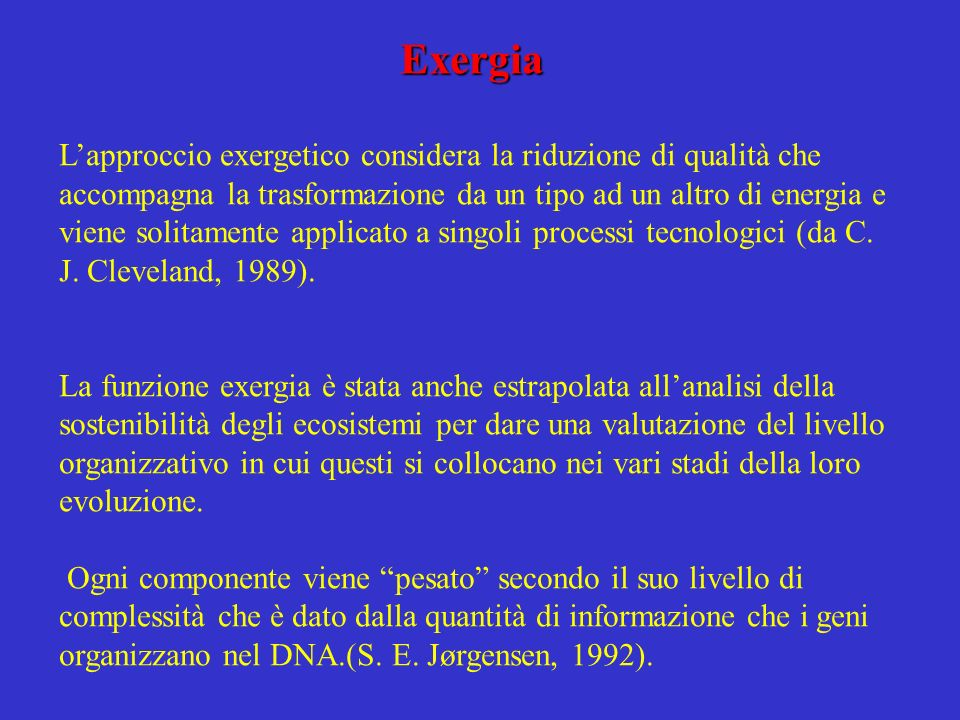 Exergia