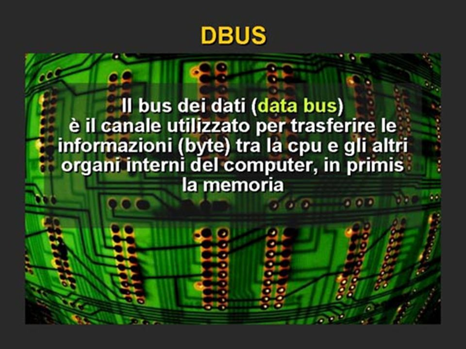 Data bus a 16 bit o 32 64 128 bit