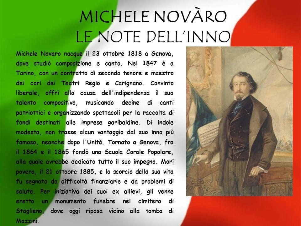 MICHELE NOVÀRO LE NOTE DELL'INNO