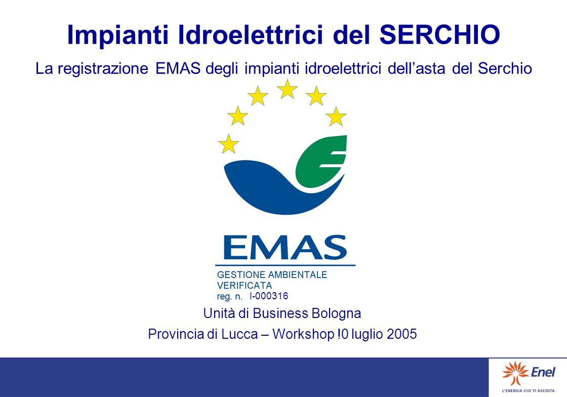 Agenda La Politica Ambientale di Enel L'Organizzazione