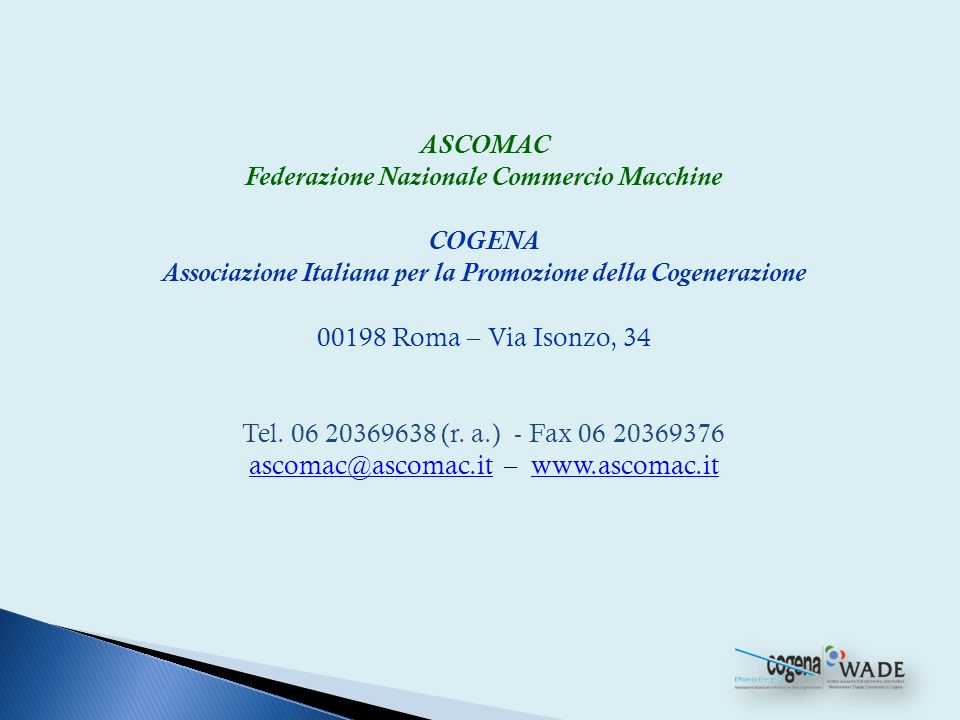 Associazione Italiana per la Promozione della Cogenerazione