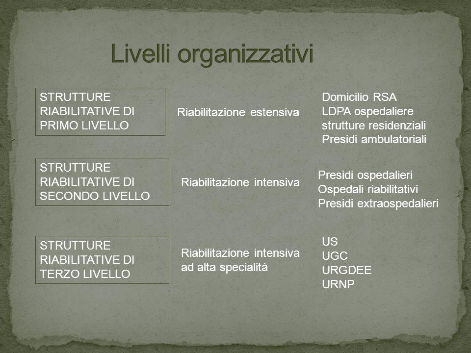 Livelli organizzativi