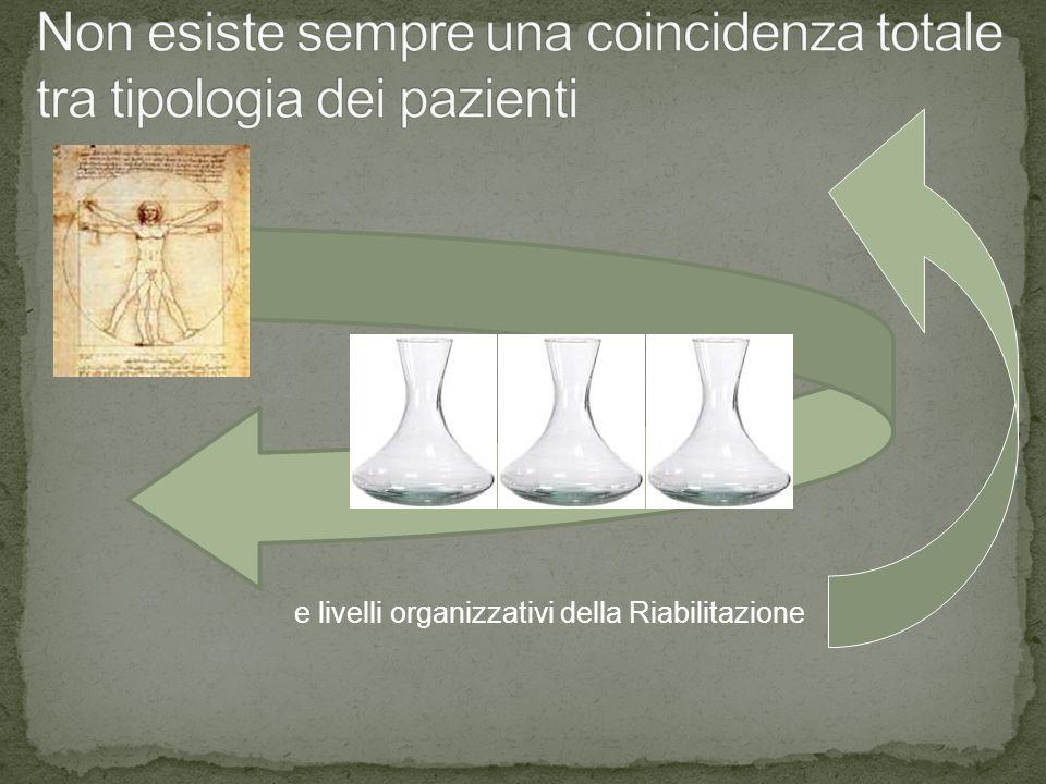 Non esiste sempre una coincidenza totale tra tipologia dei pazienti
