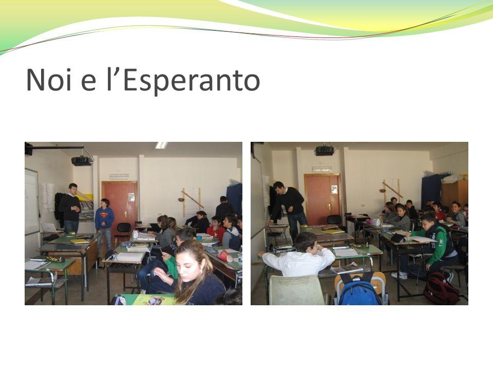 Noi e l'Esperanto