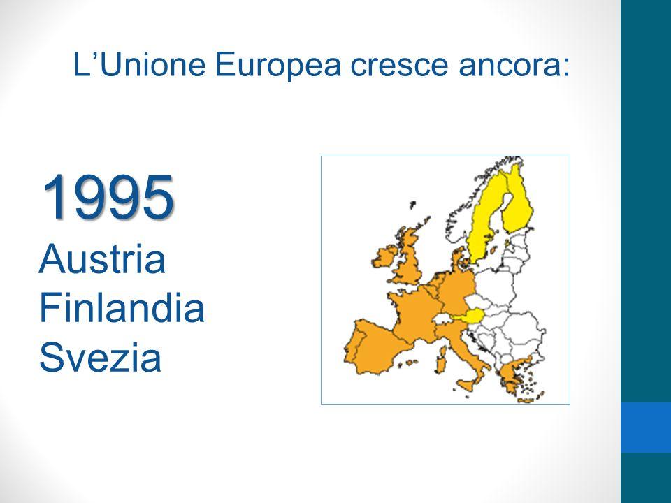 L'Unione Europea cresce ancora: