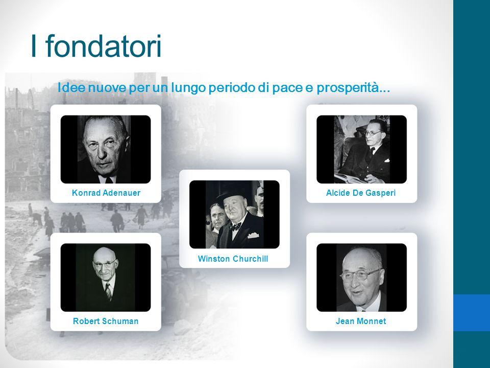 I fondatori Idee nuove per un lungo periodo di pace e prosperità...