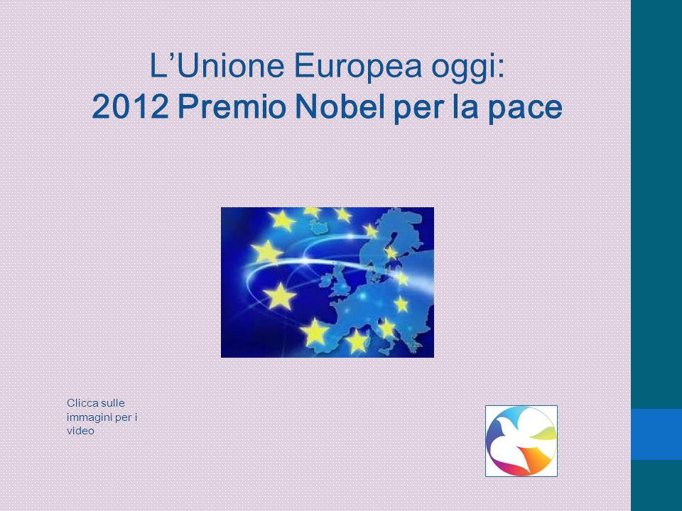 2012 Premio Nobel per la pace