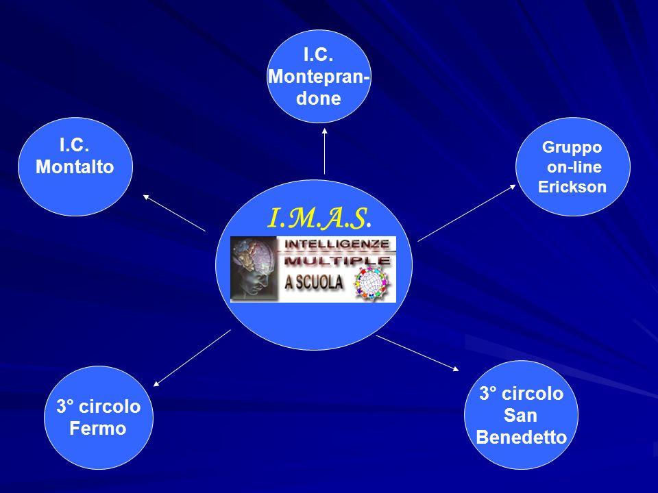 I.M.A.S. I.C. Montepran- done I.C. Montalto 3° circolo 3° circolo San