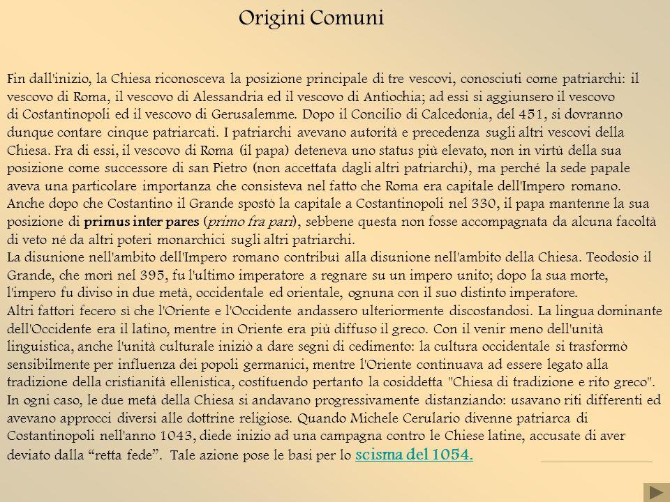 Origini Comuni