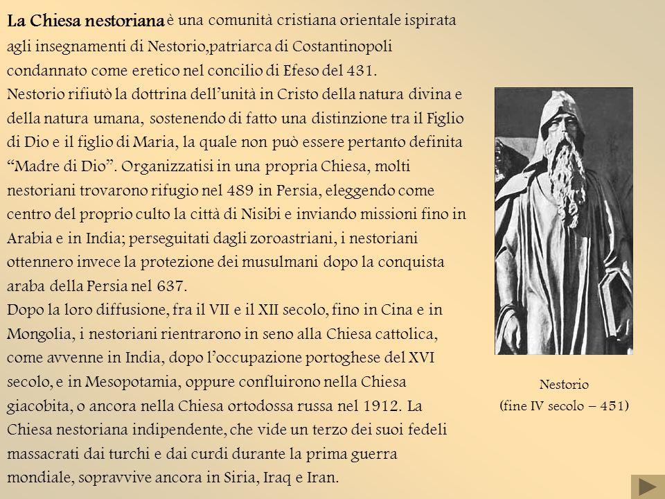 Nestorio (fine IV secolo – 451)