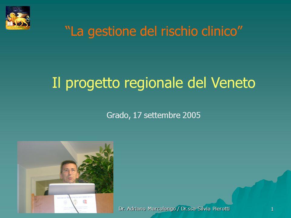 Il progetto regionale del Veneto
