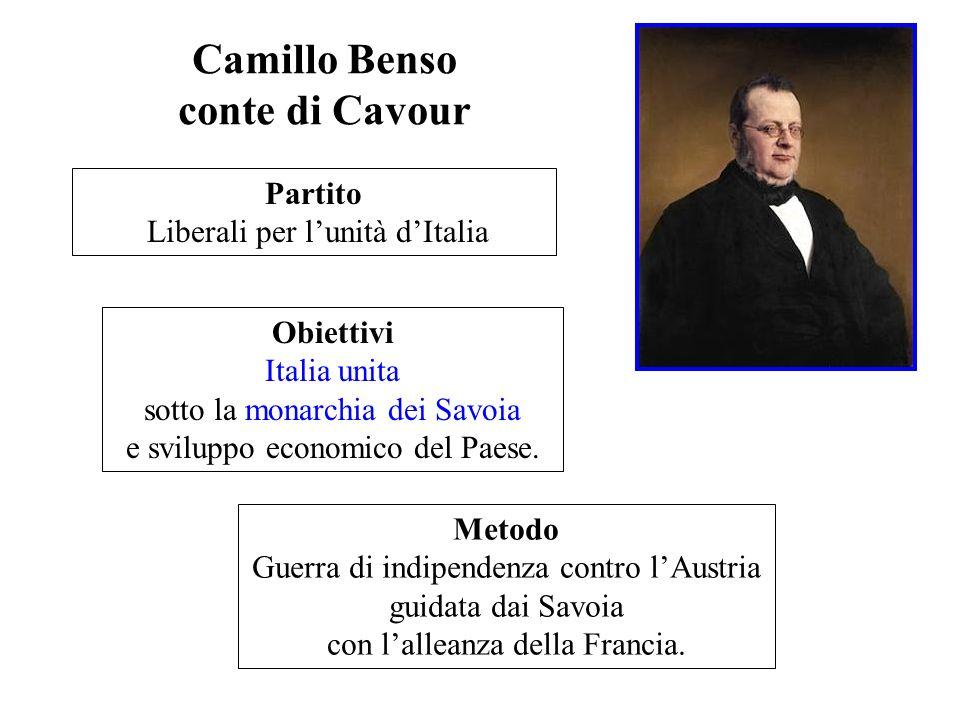 Camillo Benso conte di Cavour