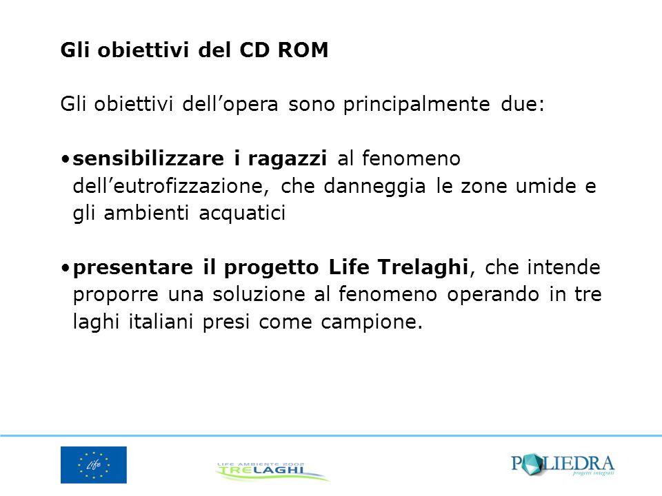 Gli obiettivi del CD ROM