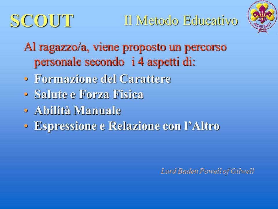 SCOUT Il Metodo Educativo