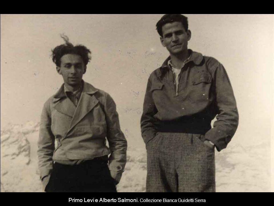 Primo Levi e Alberto Salmoni. Collezione Bianca Guidetti Serra