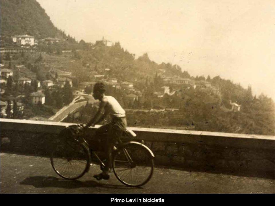 Primo Levi in bicicletta