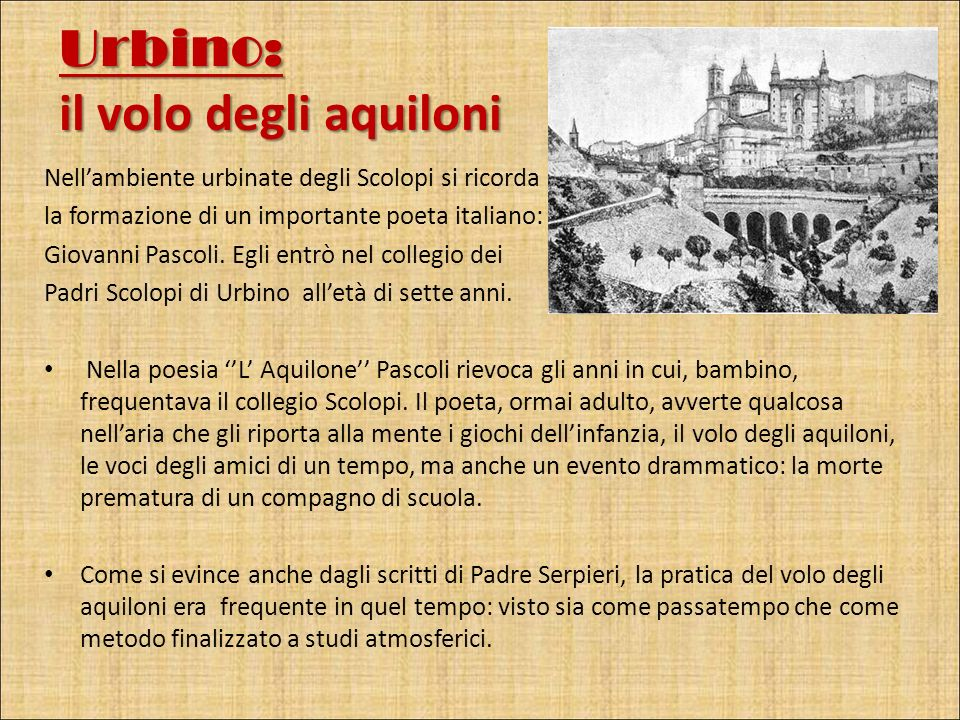 Urbino: il volo degli aquiloni