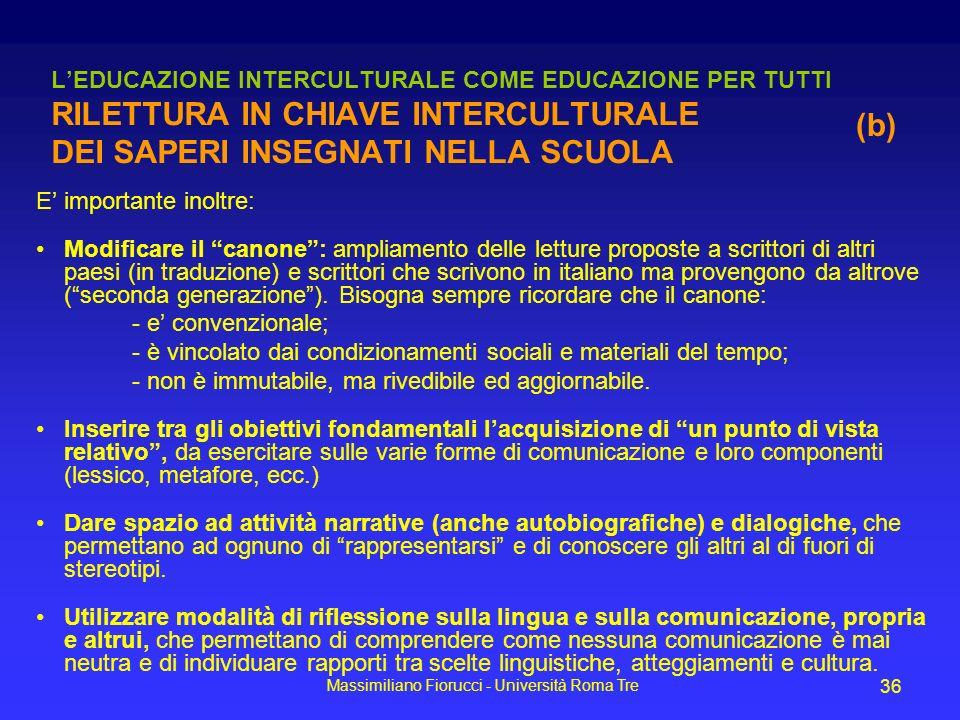 Massimiliano Fiorucci - Università Roma Tre