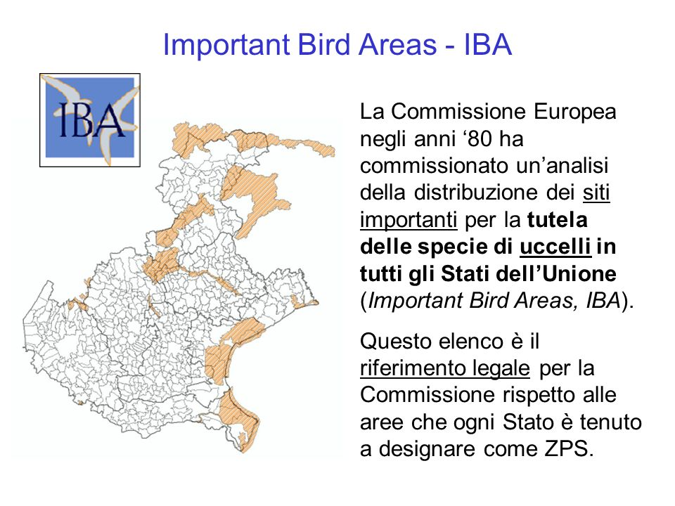 Important Bird Areas - IBA