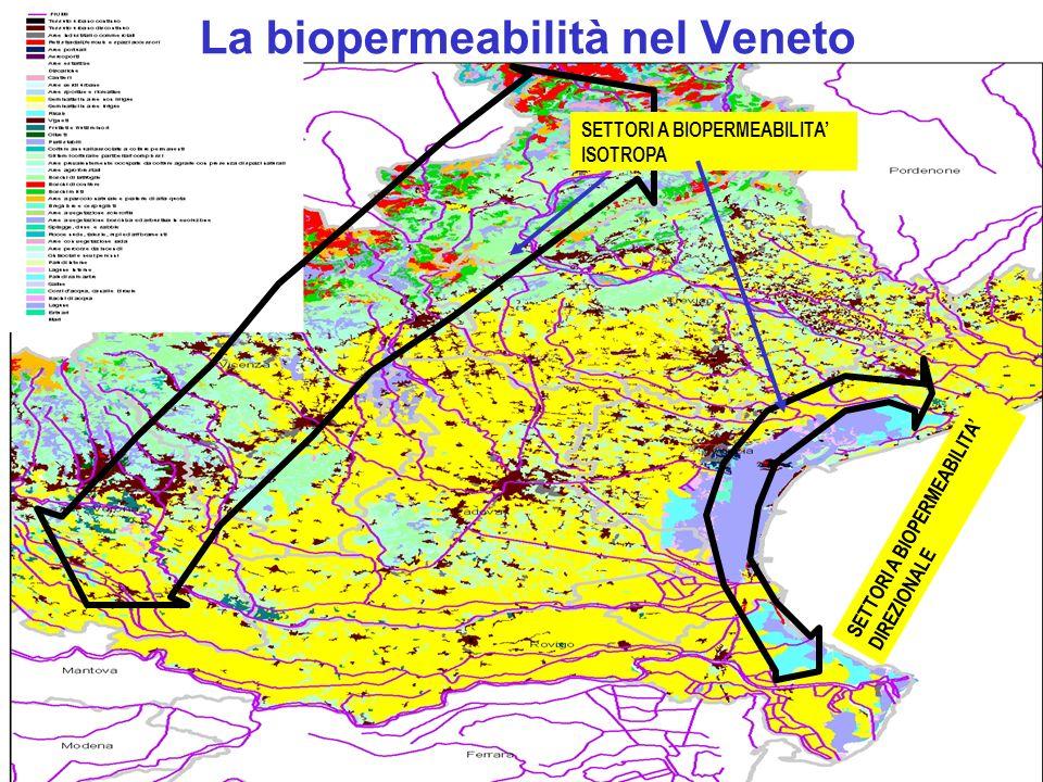 La biopermeabilità nel Veneto