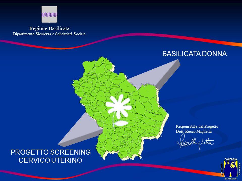 PROGETTO SCREENING CERVICO UTERINO
