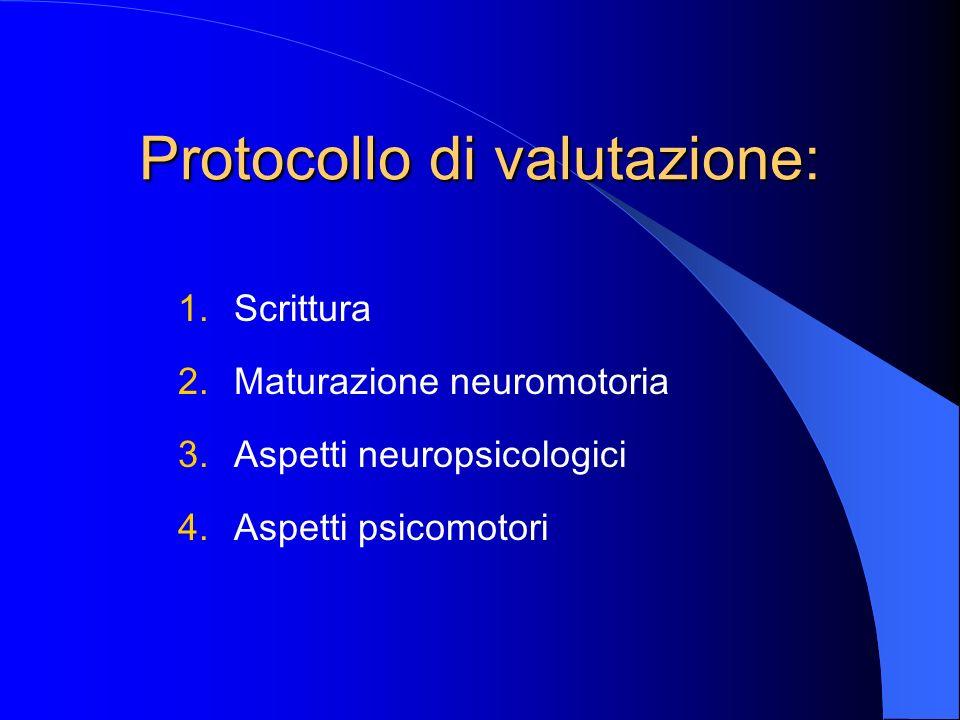 Protocollo di valutazione: