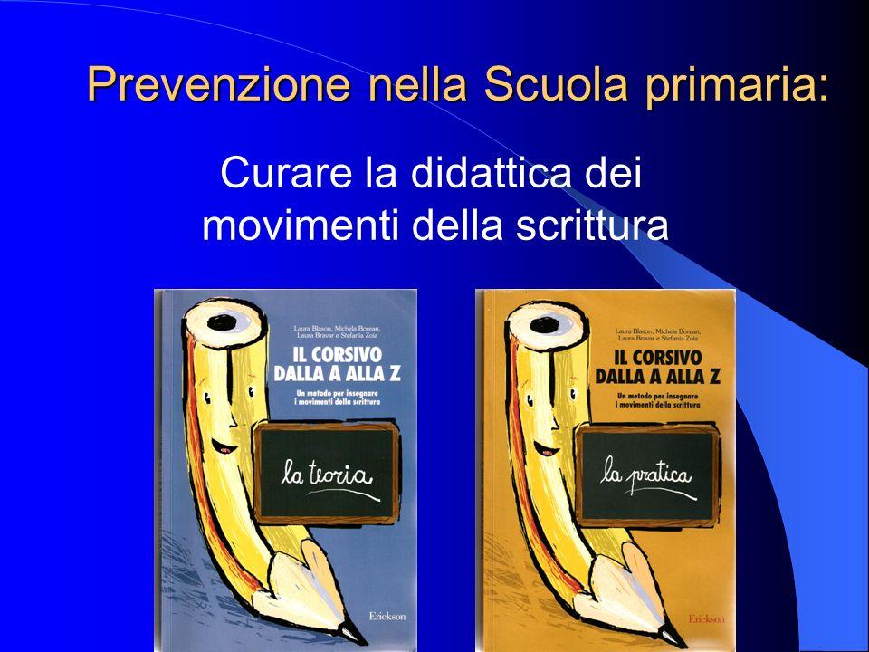 Prevenzione nella Scuola primaria: