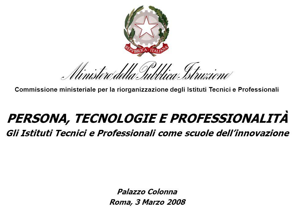 PERSONA, TECNOLOGIE E PROFESSIONALITÀ