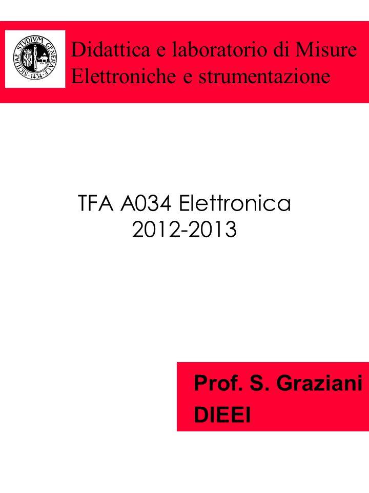 Didattica e laboratorio di Misure Elettroniche e strumentazione