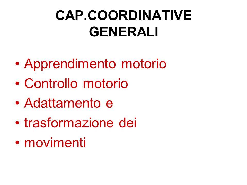 CAP.COORDINATIVE GENERALI