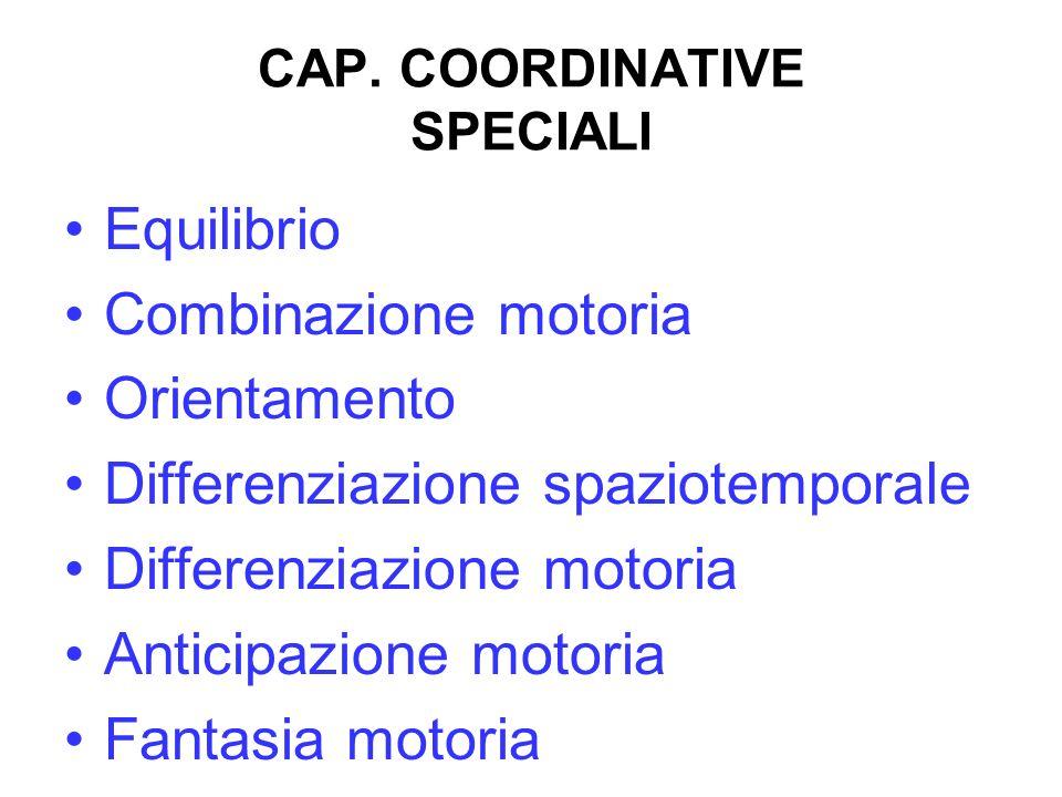 CAP. COORDINATIVE SPECIALI
