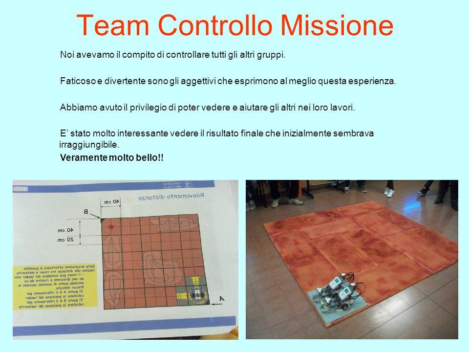 Team Controllo Missione