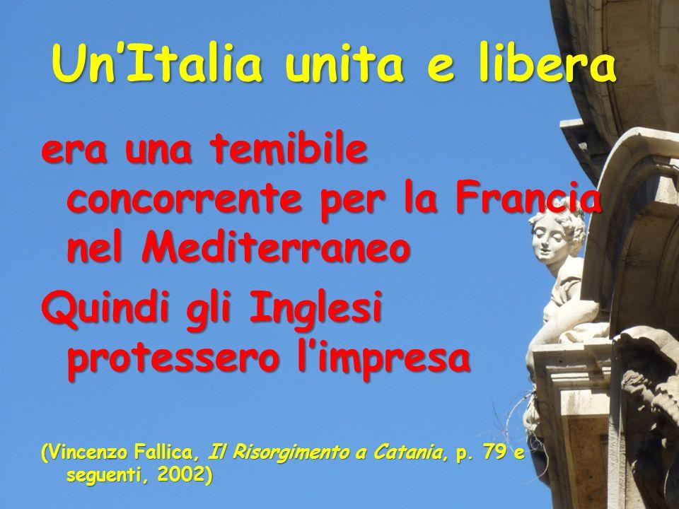 Un'Italia unita e libera