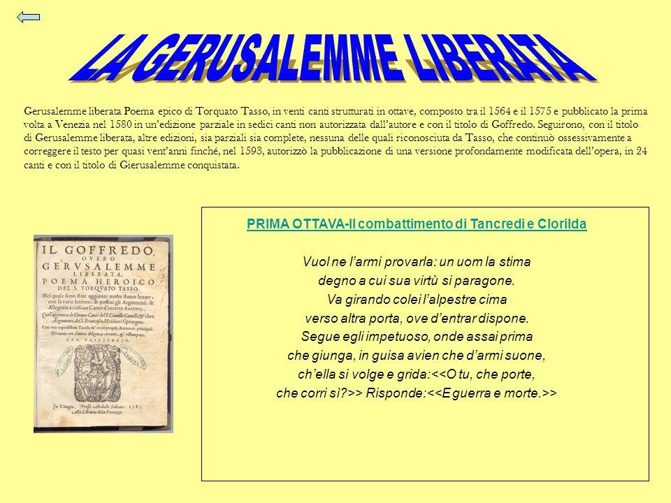 PRIMA OTTAVA-Il combattimento di Tancredi e Clorilda