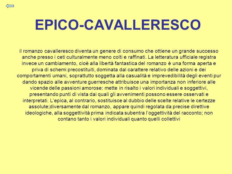 EPICO-CAVALLERESCO