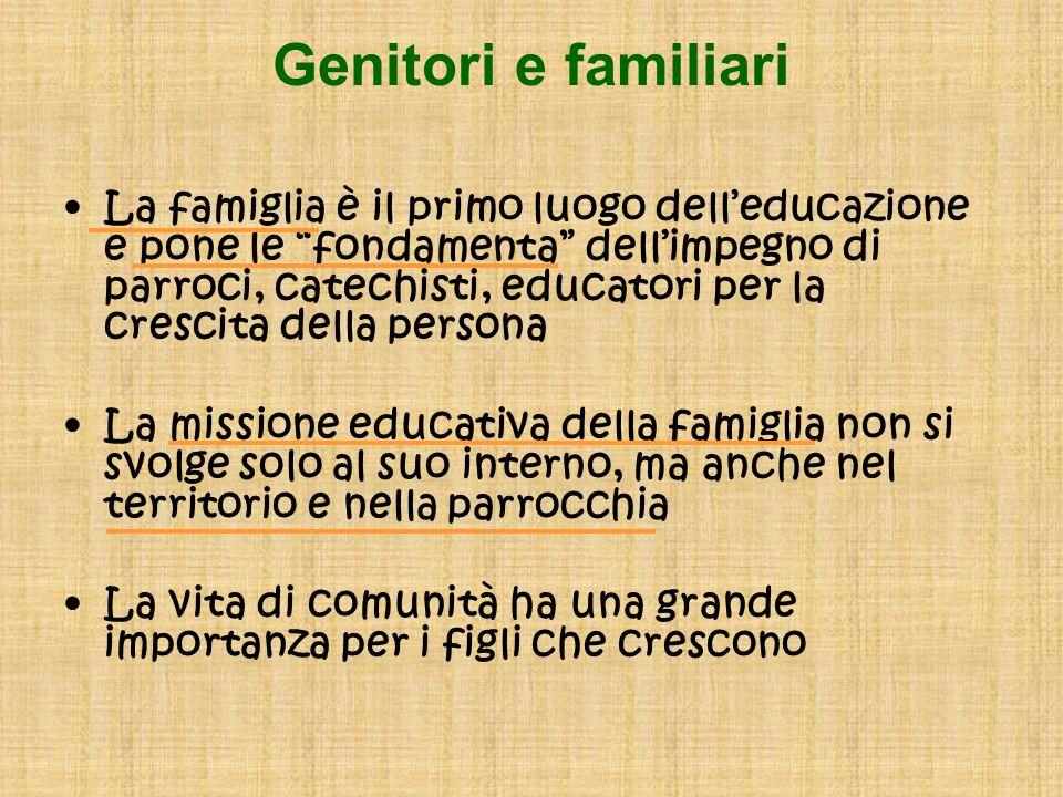 Genitori e familiari
