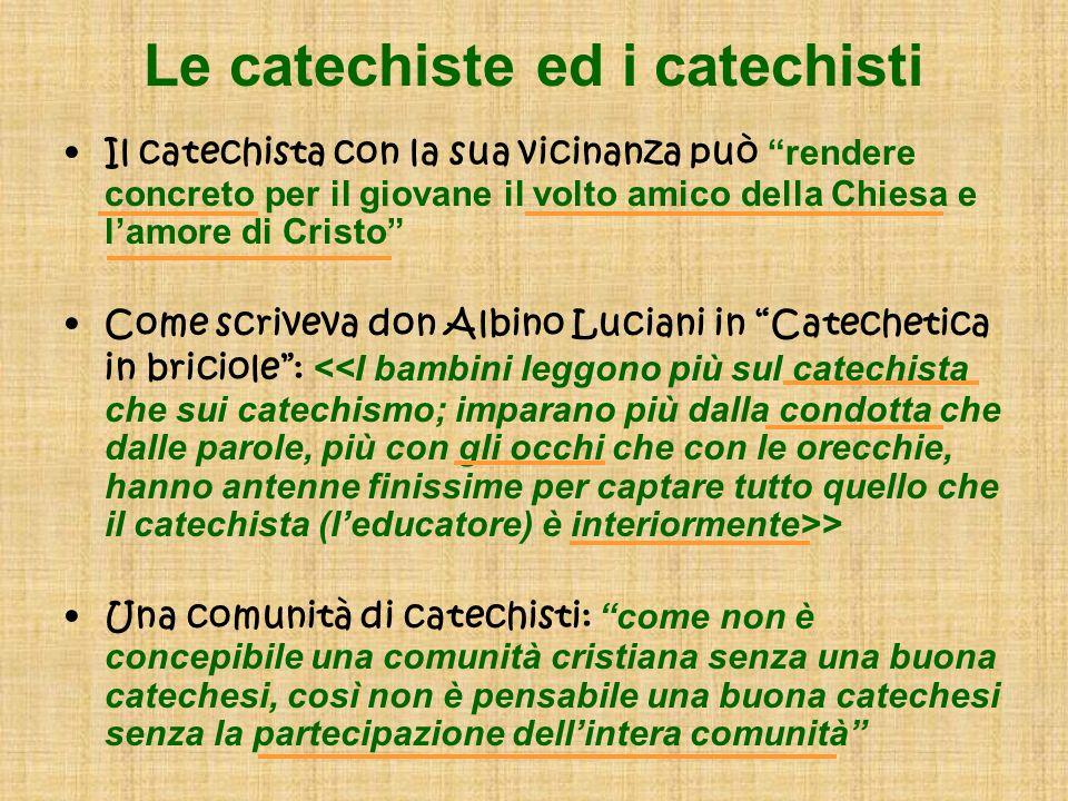 Le catechiste ed i catechisti