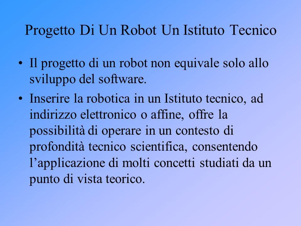 Progetto Di Un Robot Un Istituto Tecnico