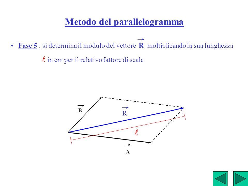 Metodo del parallelogramma