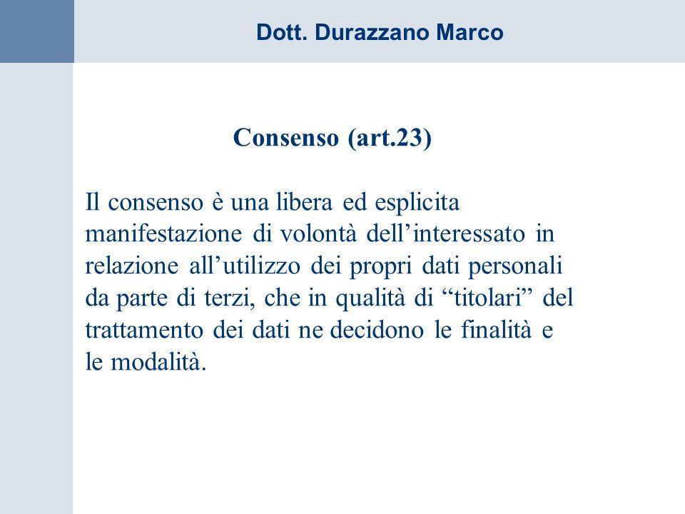 Consenso (art.23)