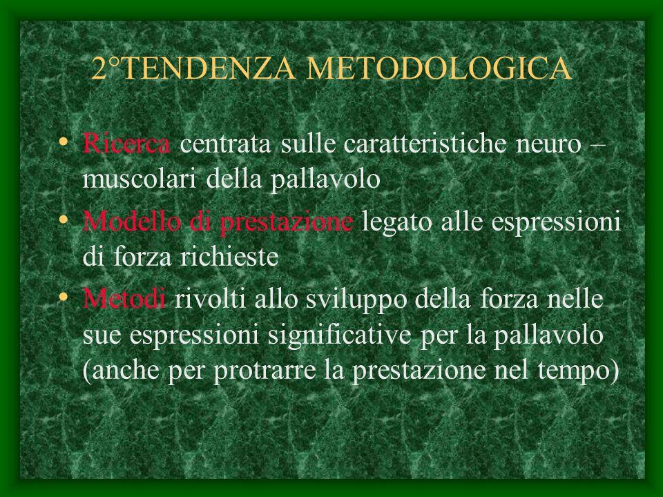 2°TENDENZA METODOLOGICA