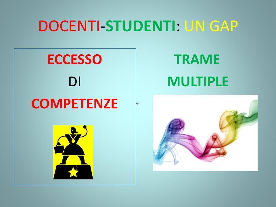 DOCENTI-STUDENTI: UN GAP