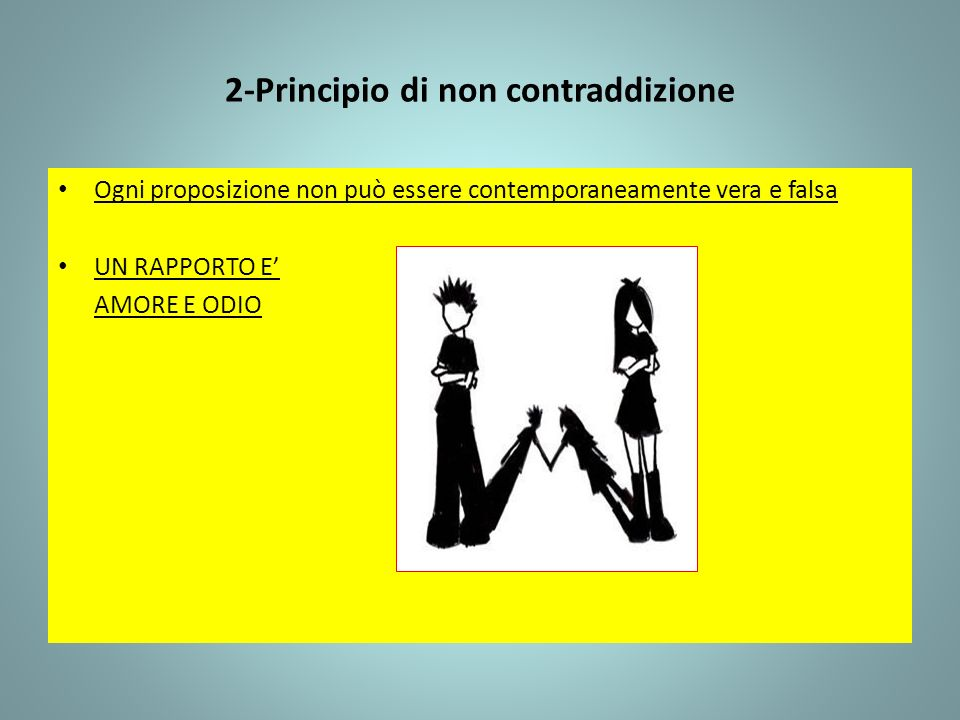 2-Principio di non contraddizione