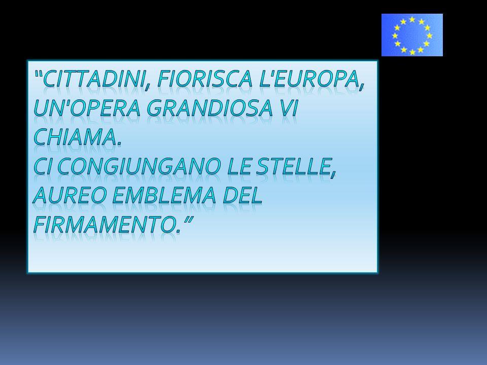 Cittadini, fiorisca l Europa,