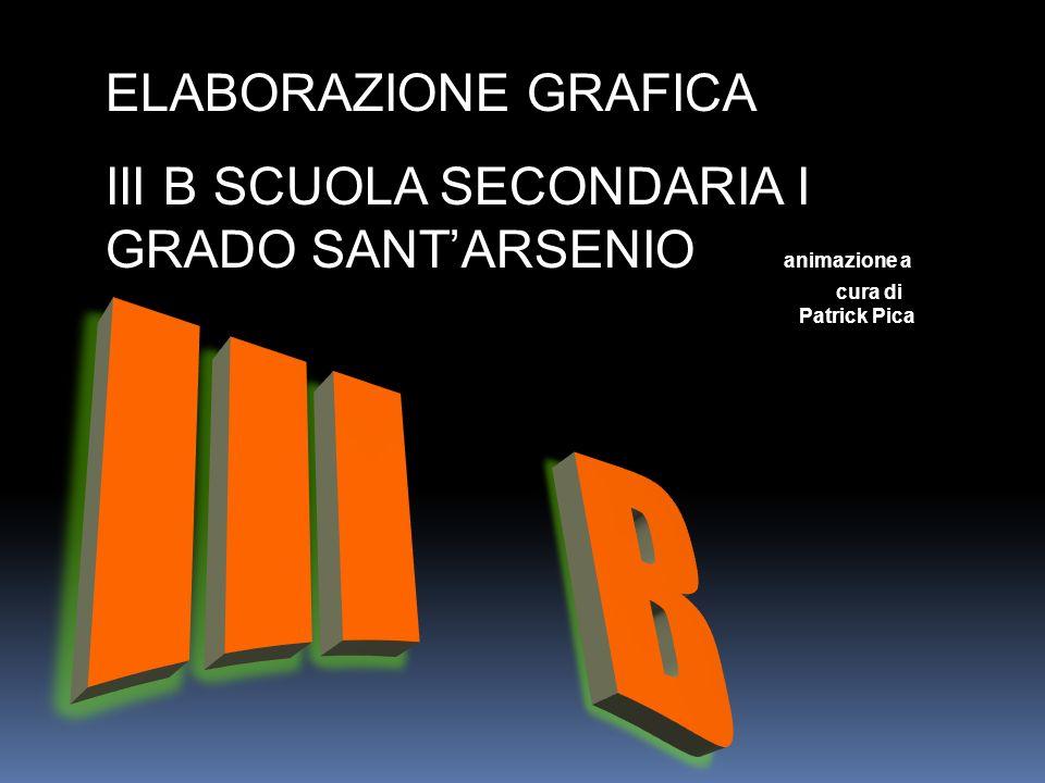 III B ELABORAZIONE GRAFICA
