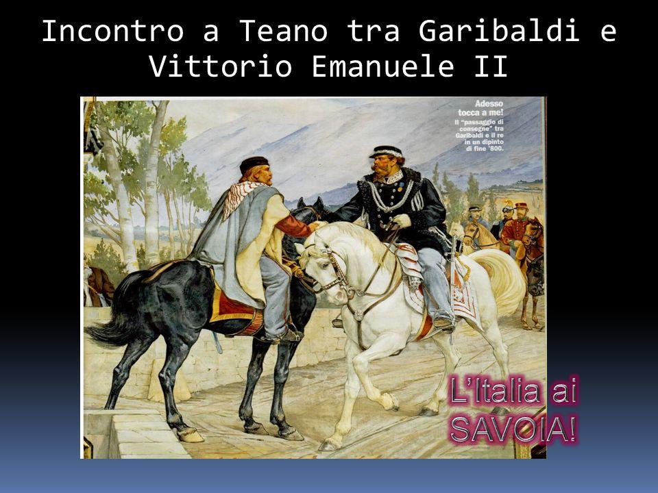 Incontro a Teano tra Garibaldi e Vittorio Emanuele II