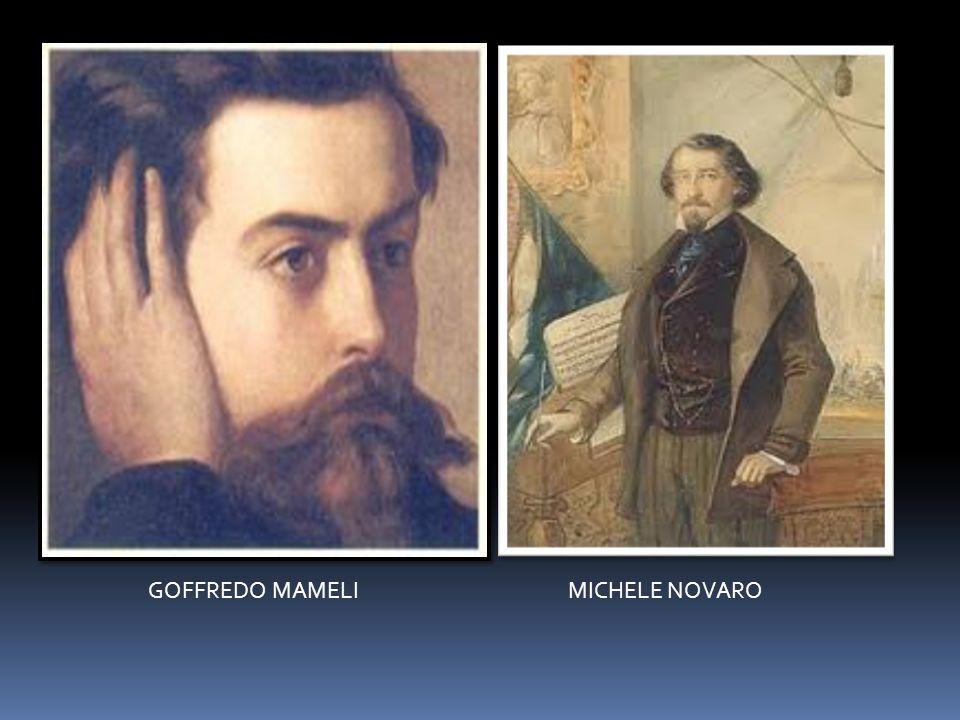 GOFFREDO MAMELI MICHELE NOVARO